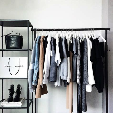 clothing storage open closet ideas for small spaces