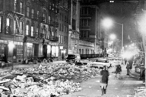 The City Digs Through Nyc Trash by Today In Nyc History The Great Garbage Strike Of 1968