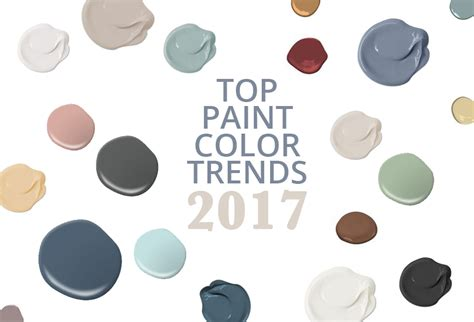 top colors 2017 paint color trends of 2017 see what colors are leading
