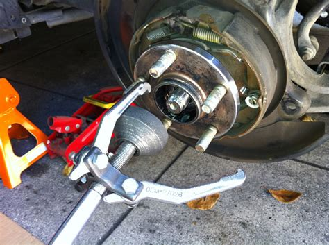 Subaru Forester Rear Wheel Bearing by Need Some Help With Rear Wheel Bearing Installation