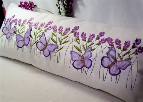 Pillow Embroidery Designs by Lavender And By Embroidershoppe Embroidery Pattern
