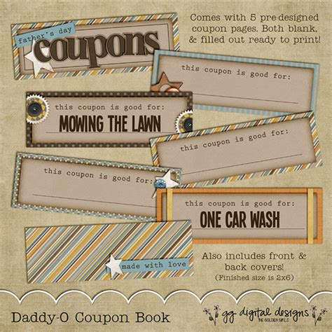 s day coupon book ideas s day gift ideas the crafting