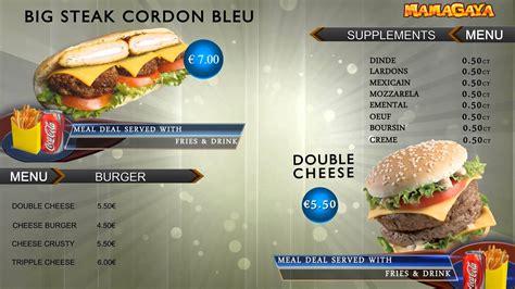 10 Most Appetizing Restaurant Menu Card Design Designhill Tv Menu Template