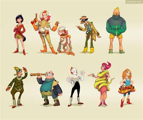 design art styles character design vol i by urukkisaki on deviantart