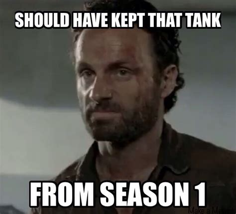 Walking Dead Rick Meme - rick s thoughts after this week s episode weknowmemes