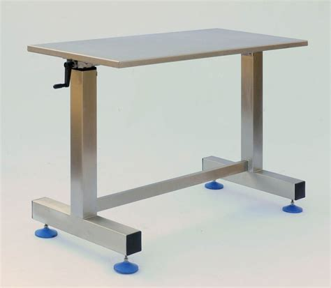 adjustable height bench specialist medical stainless steel fabricators neocare