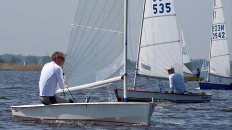 solo open zeilboot eerste belgisch kioenschap solo clubracer