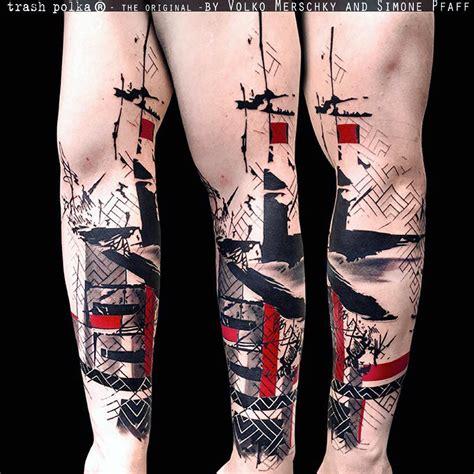 реализм трэш полька новый стиль в татуировке funtattoo ru