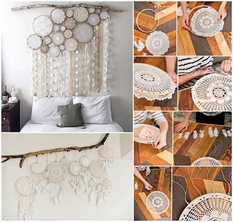 dreamcatcher bedroom ideas make this beautiful doily dream catcher for your bedroom