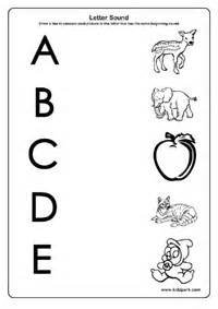 initial sound consonant worksheet for children activities
