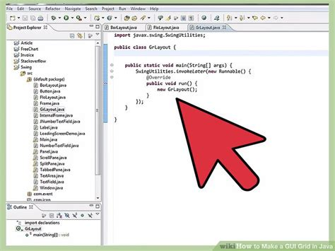 design games with java how to make a gui grid in java with pictures wikihow