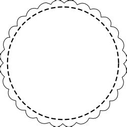 circle gift tag template free digital scalloped circle scrapbooking tags