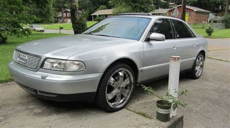 car owners manuals for sale 1997 audi a8 free book repair manuals purchase used 1997 audi a8 l 4 2 quattro silver in atlanta georgia united states for us 4 500 00