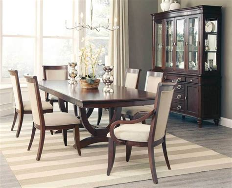fabulous cognac finish formal dining table chairs dining room furniture set ebay