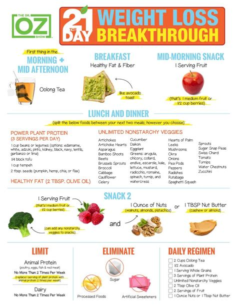 Breakthrough Detox by The 21 Day Weight Loss Breakthrough Diet Print The Plan