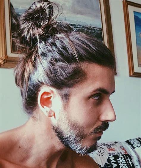 70s bun hairstyles man bun 70 best man bun hairstyle and top knot cuts