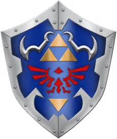 Hylian Shield Outline by 3d Modeling Link S Shield From