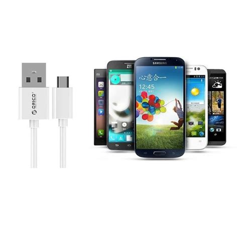 Fast Micro Smartphone Charge Cable 1m orico 1 meter micro usb charging cable fast charge and