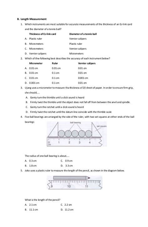 Micrometer Worksheet by Collection Of Micrometer Worksheet Desirbrilliancecream