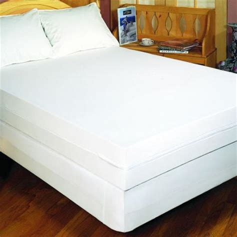 walmart bed bug mattress cover bargoose home textiles bedbug solution zippered mattress cover