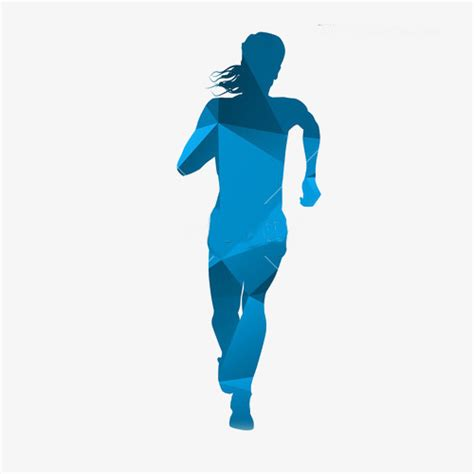 Abstract For Fitness Running 1 abstract running painting running run png image for free