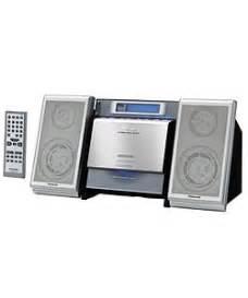 panasonic sc en17 cd stereo micro shelf system