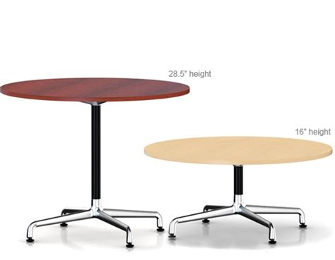 eames small table with laminate top amp vinyl edge