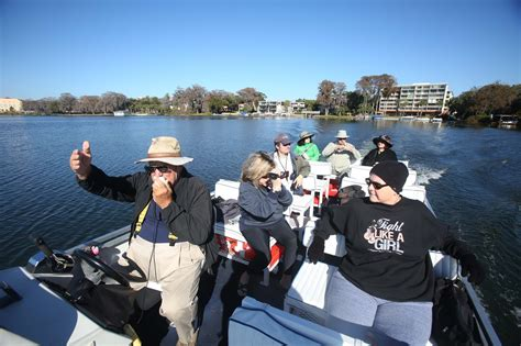 boat tour winter park florida winter park boat tour guides arrived from all over for one