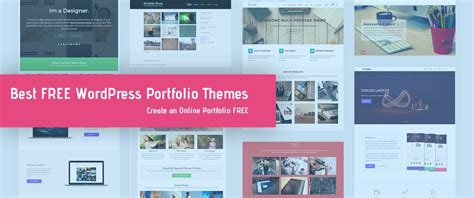 15 best free portfolio wordpress themes templates 2018