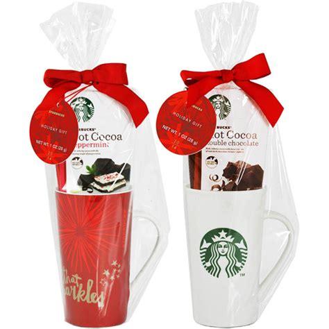 Starbucks Tall Mug with Hot Cocoa Gift Set ( Set of 1 mug): Food Gifts : Walmart.com
