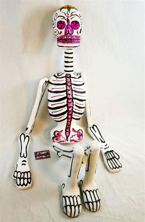 How To Make Paper Mache Bones - paper mache skeleton xl 55x12in alamo