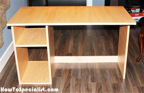 simple diy computer desk plywood computer desk design decoration
