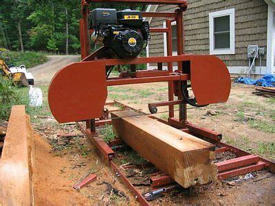 Band Sawmill Wheels Portable Band Sawmill Diy Bandmill
