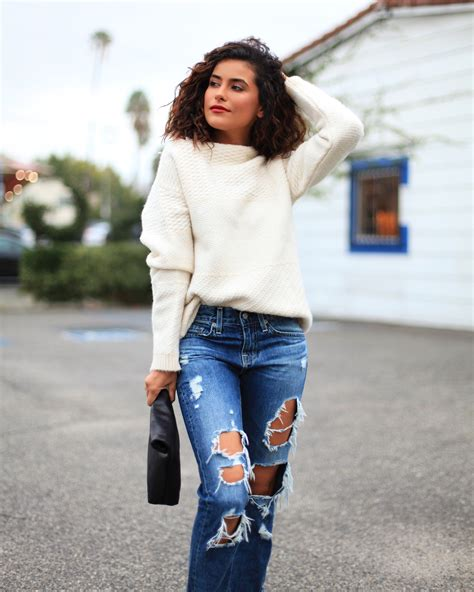 jeans in style for 2016 ripped boyfriend jeans a major essential sazan