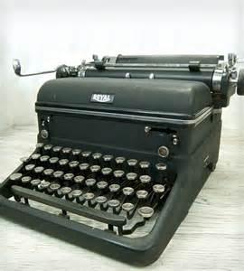 vintage royal kmm typewriter home decor lighting