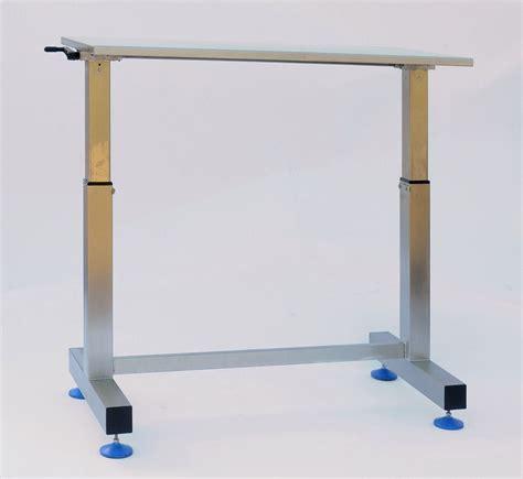 height adjustable desk uk adjustable packing medical trolley neocare