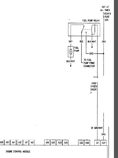 chevy blazer fuel relay wiring diagram get free