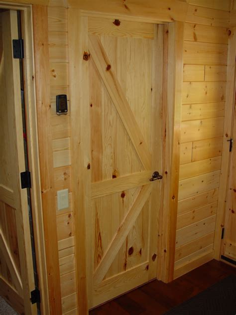 Pine Interior Door Rustic Pine Trim Interior Studio Design Gallery Best Design