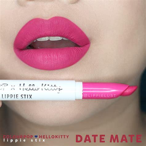 Colourpop Mini Matte Date my colourpop x hello collaboration collection