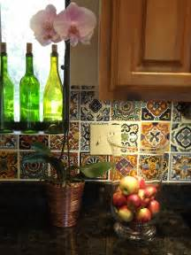 Mexican Tiles For Kitchen Backsplash Mexican Tile Kitchen Floor Viewing Gallery