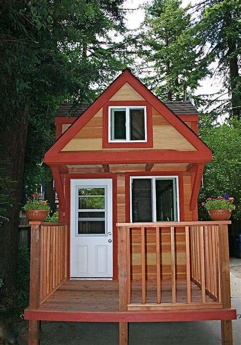 tiny house with deck jason s one of a kind tiny house