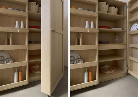 Kitchen Cabinet On Wheels by Kitchen Cabinet On Wheels Made From Refined Materials