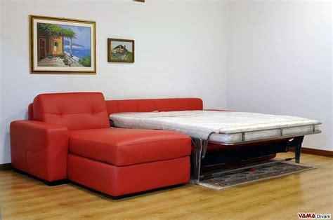 divano letto in pelle divano angolare con letto matrimoniale e penisola contenitore