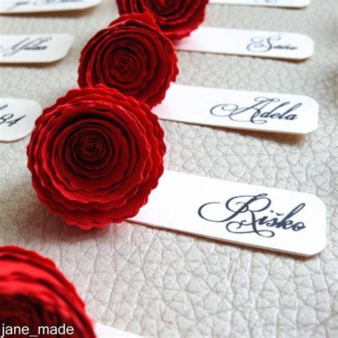 Table Tag Wedding Name Table Tags Wedding Table Decor Paper