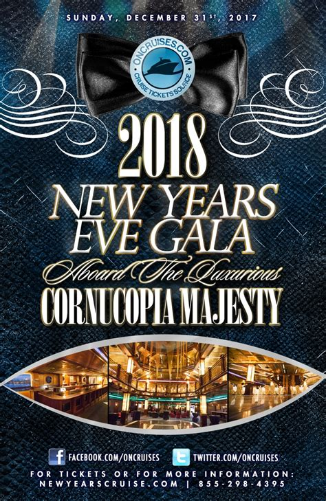 new year 2018 events 2018 new year s gala aboard the luxurious cornucopia