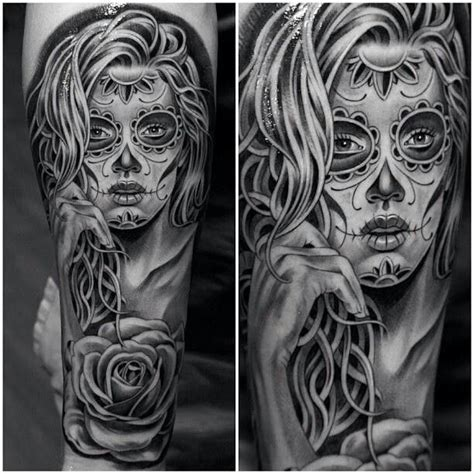 tattoo concept creator day of the dead girl tattoo tattoo pinterest day of