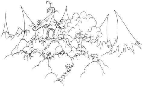 mountain printable coloring pages
