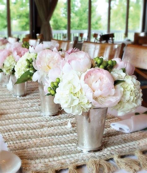 bridal shower table decorations flowers pink wedding centerpieces mywedding