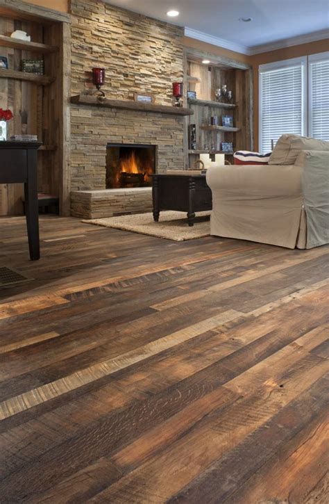 Wood Style Flooring by Easy Tips How To Reclaim Barn Wood Themsfly