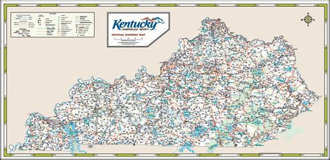 kentucky highway map with counties image gallery kentucky road map